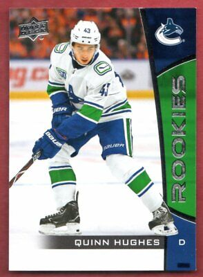 Quinn Hughes UD NHL Rookie Box Set 2019-20 14 RC Upper Deck MINT Rookies Canucks