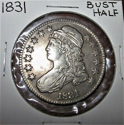 1831 Us Mint Bust Half Dollar
