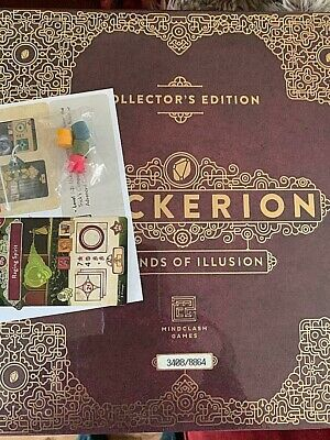 Trickerion board game Limited Kickstarter Collectors Edition Legends of Illusion