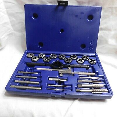 Irwin Hanson 24 Pc. Metric Tap & Die Set 1900205