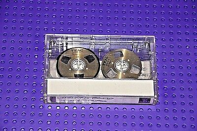 Teac  Gold  Crc 60    Blank Cassette Tape (Used) (1)