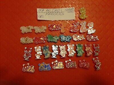 Vintage Gumball/Dime Store Animal Standing Charms/Figures/Toys Lot Of 29