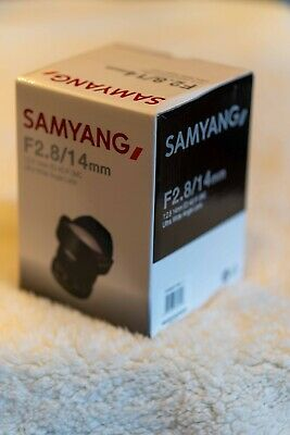 Samyang 14mm f/2.8 Manual Focus Wide Angle Lens - Sony Emount
