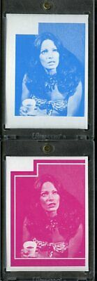 1977 Topps Charlies Angels Color Separation Proof Cards. #227