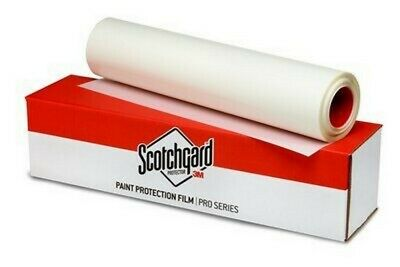 """3M Scotchgard Pro Series Paint Protection Film Clear Bra Bulk 24"""" by foot"""