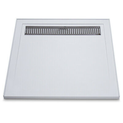 Low Profile SMC Shower Base with Grate