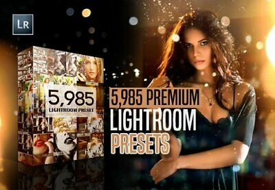 Premium Lightroom Presets on USB Flash drive and link RRP $840