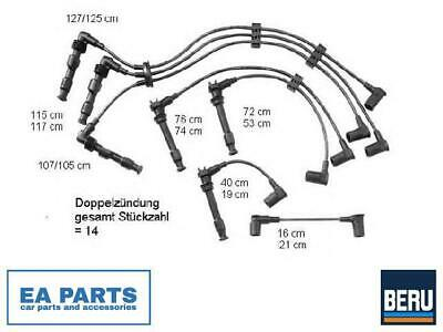 Ignition Cable Kit For Porsche Beru Zef601