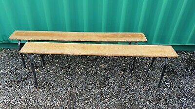 Vintage Original circa 1950's School Gym hall Stacking Industrial Bench
