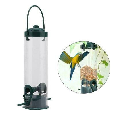 Lantern Bird Feeder Nut Holder Hanging Feeding Station For Wild Birds 17x25cm