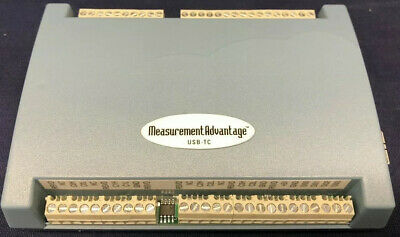 Measurement Computing USB-TC USB-based 8-channel Thermocouple Input Module.