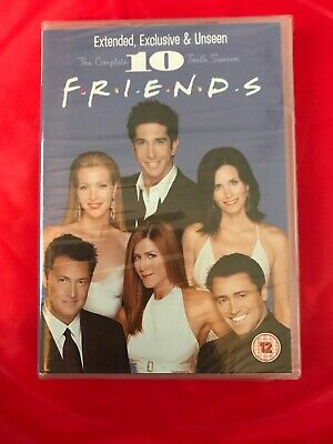 Friends - Series 10 - Complete (DVD, 2010, 4-Disc Set, Box Set) Extended Unseen