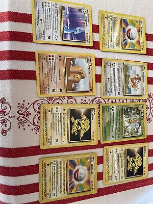 Lotto Misto Carte Pokemon Rare Set Base Pokemon Italiano Eng Condizioni Miste