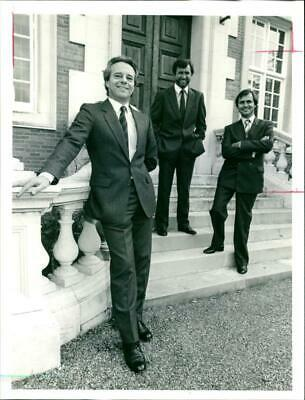 Terry P. Kelly with Tony Staples and Michael Smith - Vintage photograph