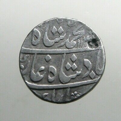 MUGHAL SILVER RUPEE___India Empire__FOUNDED BY MONGOL DESCENDANT OF GHENGIS KHAN