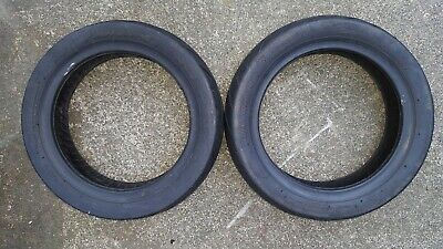Pair of kymco agility mobility scooter tyres. 80/65-8