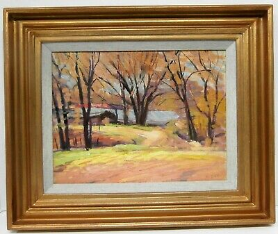 Ontario Fall colors - OIL - Wakeford Gerald Dix (b. July 4, 1888-d.1970).