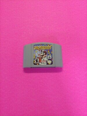 DR. MARIO 64 - Nintendo 64 N64 Game - Authentic - Clean - Tested - Working