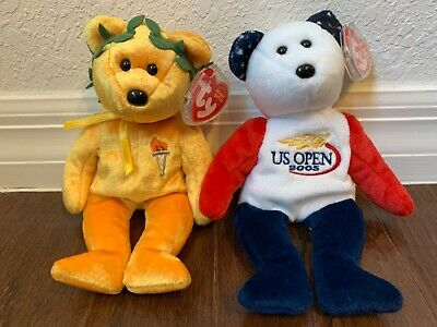 TY Beanie Baby Pappa 4593 Bear 4510 Buy Any 4 = ship free