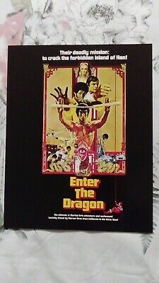 Bruce Lee Enter The Dragon Lot Two