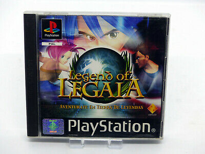 Sony Playstation Psx Ps1 - Legend Of Legaia - Complete Completo - Pal Esp