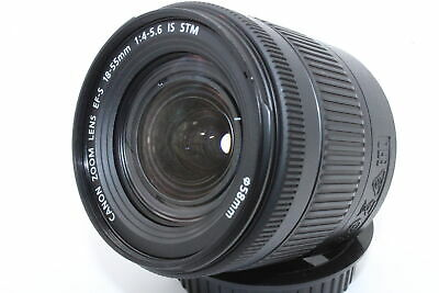 Canon EF-S 18-55mm f4-5.6 IS STM EF Mount Lens - Very Good