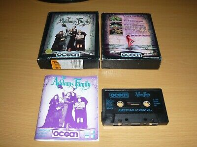 ****Amstrad Cpc 464/664/6128 Game The Addams Family By Ocean****