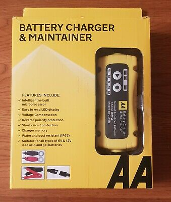 Aa Battery Charger & Maintainer