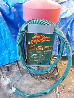 Jim Coleman Hot Foam Carpet Cleaner Vacuum 94055 Car Wash CARWASH 110 volt w/Key