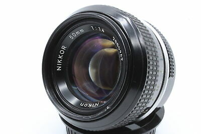 Nikon Nikkor 50mm f1.4 non-Ai Nikon F Mount Lens - Good