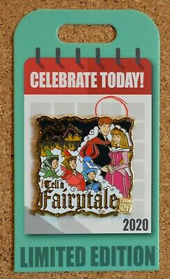 Disney Parks -Pin of Month -Celebrate Today - Tell a Fairytale - Sleeping Beauty