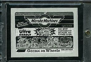 1991 Topps Wacky Packages Mask Negative. Microbe Machines
