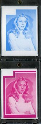 1977 Topps Charlies Angels Color Separation Proof Cards. #216