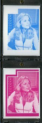 1977 Topps Charlies Angels Color Separation Proof Cards. #204