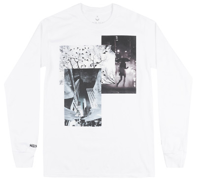 Black Scale X Sdj Dimensions Long Sleeve Shirt White Mens Blvck Scvle Tee