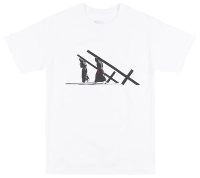 Black Scale Repent T-Shirt Mens Blvck Scvle Streetwear Occult Tee White