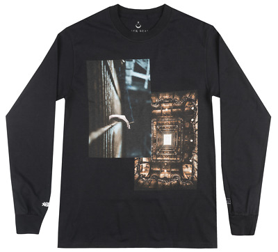 Black Scale X Sdj Portal Long Sleeve Shirt Mens Blvck Scvle Fashion Occult Tee