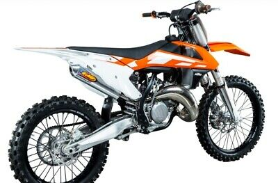 Husqvarna TC 125 /& KTM 125//150 SX 2016-2018 /_025187 FMF Racing Shorty Silencer