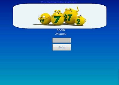 KLODS TATTSLOTTO lotto oz POWER SYSTEM Lottery software