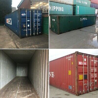 40ft High Cube Used  Watertight Shipping Containers ** Baltimore ** Best Price!
