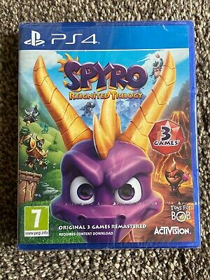 Spyro the Dragon Reignited Trilogy - brand new (PS4 2018)