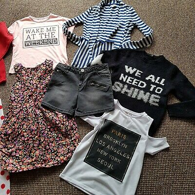 Girls Clothes Bundle Age 7-8 Years, River Island, M&S, George