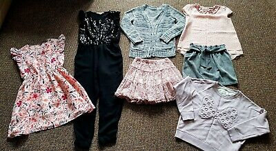Amazing Girls Clothes Bundle Age 7-8 Years, River Island,  George, H&M, Courage