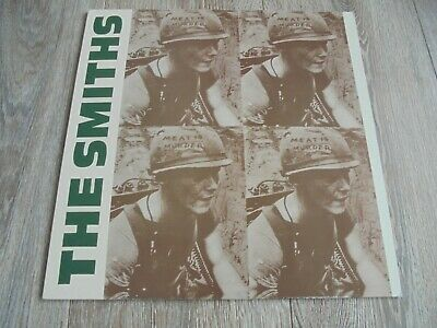 The Smiths - Meat Is Murder UK LP ROUGH TRADE BLUE MARBLE VINYL