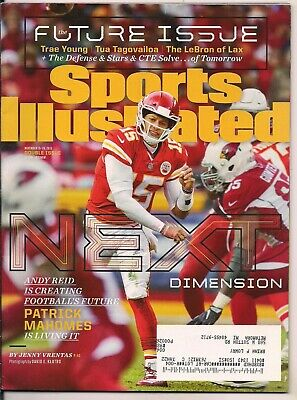 Sports Illustrated Double Issue Patrick Mahomes Kansas City Chiefs  11/19/2018