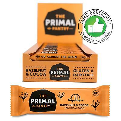 The Primal Pantry Energieriegel Haselnuss & Kakao 18x45g MHD 12.01.2020 ab 1.-
