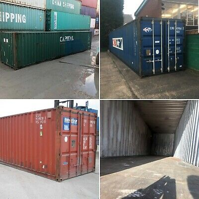 20ft & 40ft Used Wind & Watertight Shipping Containers *Indianapolis*Best Price!