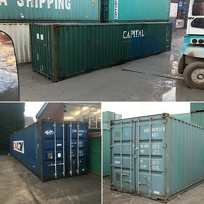 20ft & 40ft Used Wind & Watertight Shipping Containers ** Denver ** Best Price!