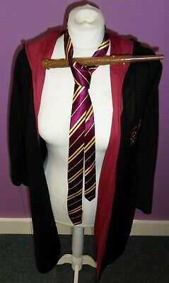 Rubie's Costume Co. Harry Potter Gryffindor Fleecy Robe Child Med. Tie Toy Wand