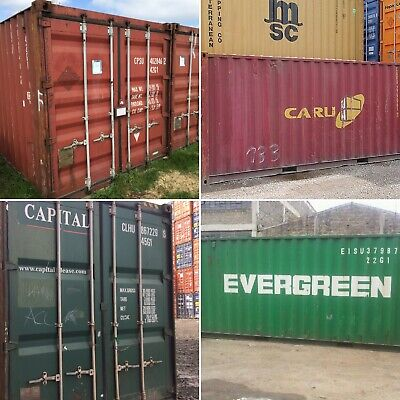 20ft & 40ft Used Wind & Watertight Shipping Containers* Minneapolis *Best Price!